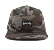 Boné Thrasher Five Panel Camuflado