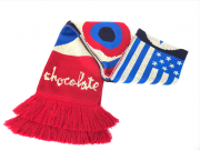 Cachecol Chocolate Skateboards 20 Years Flag Scarf