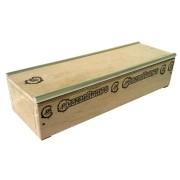 Caixote Box de madeira para Fingerboard Chazan Ramps