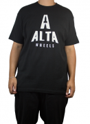 Camiseta Alta Wheels Logo Preta