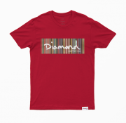 Camiseta Diamond Color Ply Vermelha