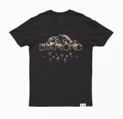 Camiseta Diamond Mirrored Preta