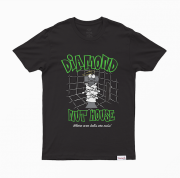 Camiseta Diamond Nut House Preta