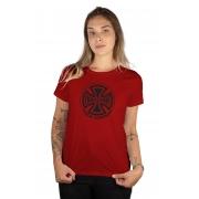 Camiseta Feminina Independent Truck Co Vermelho