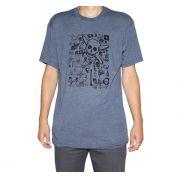 Camiseta Fourstar Multi Pirate Azul