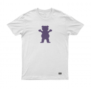 Camiseta Grizzly Bear Branca