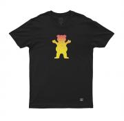 Camiseta Grizzly Bear Fadeway Preta