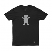 Camiseta Grizzly Bear Reflect Preta