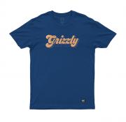 Camiseta Grizzly Disco Strip Marinho