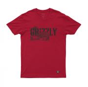 Camiseta Grizzly Paradise Vermelha