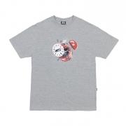 Camiseta High Co Clock Grey