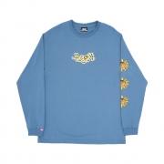 Camiseta High Co Manga Longa Junglist Blue