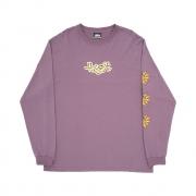 Camiseta High Co Manga Longa Junglist Purple