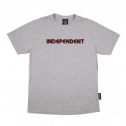 Camiseta Independent Bar Logo Cinza