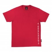 Camiseta Independent Vertical Vermelho