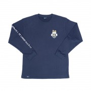 Camiseta Öus Manga Longa Naccarato Azul Marinho