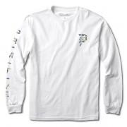 Camiseta Primitive Manga Longa Dirty P Hologram Foil Branca
