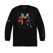 Camiseta Primitive Manga Longa Goku Versus Preta