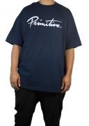 Camiseta Primitive Nuevo Script Marinho