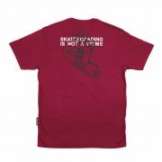 Camiseta Santa Cruz Crime Hand Bordo