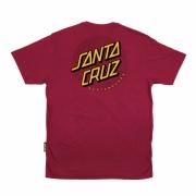 Camiseta Santa Cruz Flex Dot Vermelha