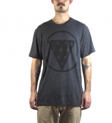 Camiseta Zoo York Triangle Cinza