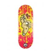 Deck Fingerboard WOW 33.5mm Hand Pink