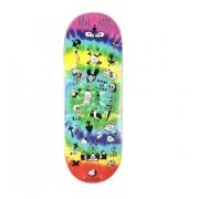 Deck Fingerboard WOW 33.5mm Love Hate Tiedye
