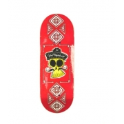 Deck Fingerboard WOW 33.5mm Skull Red