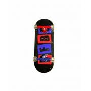 Fingerboard Skate de Dedo 33.5mm Valfb Signature Max #2/Bicolor/Transparente