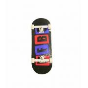 Fingerboard Skate de Dedo 33.5mm Valfb Signature Max #2/Branco/Branco