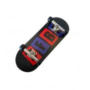 Fingerboard Skate de Dedo 33.5mm Valfb Signature Max #2/Prata/Preto