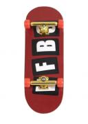 Fingerboard Skate de Dedo 33.5mm Valfb Signature Yamada #1/Dourado/Vermelho