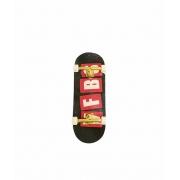 Fingerboard Skate de Dedo 33.5mm Valfb Signature Yamada #2/Dourado/Branco