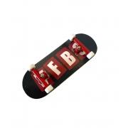 Fingerboard Skate de Dedo 33.5mm Valfb Signature Yamada #2/Vermelho/Branco