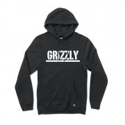 Moletom Grizzly com Capuz Stamped II Preto