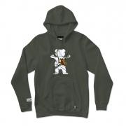 Moletom Grizzly com Capuz Bear Winter Camo Verde