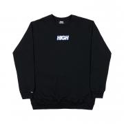Moletom High Co sem capuz Logo Colored Black