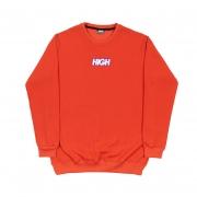Moletom High Co sem capuz Logo Colored Red