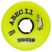 Roda ABEC 11 Speed Zig Zag 70mm 83a