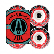 Roda Alta Wheels Hyper Space Uncut 52mm