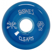 Roda Bones SPF Clear Blue 60mm