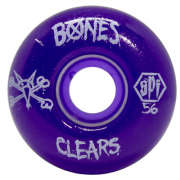 Roda Bones SPF Clear Purple P2 56mm