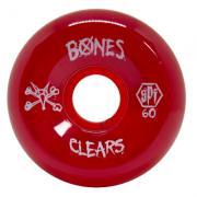 Roda Bones SPF Clear Red P5 60mm