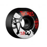 Roda Bones STF V1 Series 53mm Preta