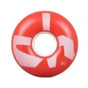 Roda Chocolate Soft Filmaker 85a Vermelha 60mm