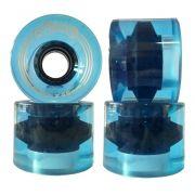 Roda Creme Cruiser 60mm 78a Azul