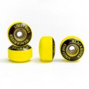 Roda Fingerboard Blackriver Street Dogs Yellow