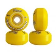 Roda Mentex 53mm Amarela