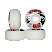 Roda Moska Rock 53D Branca 53mm